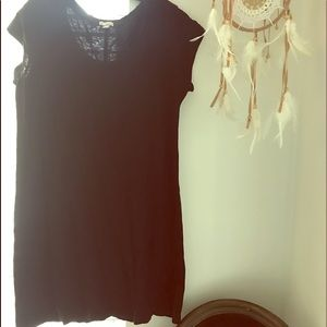 Black TShirt Mini Dress